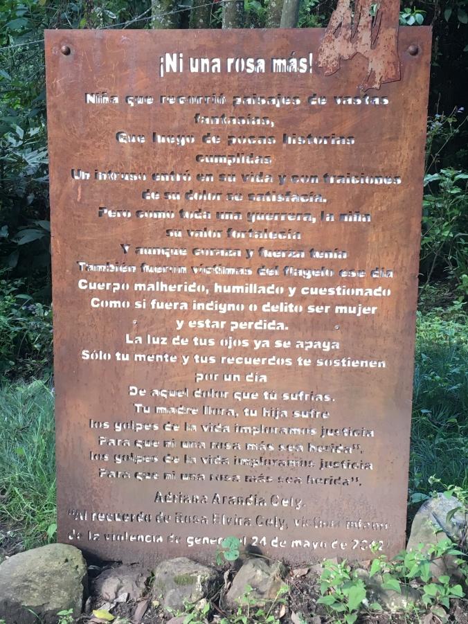 Memorial Rosa